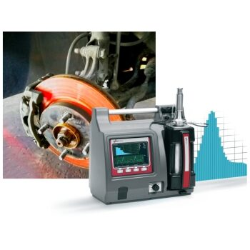 Brake wear emission measurement