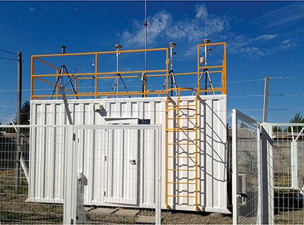 Air quality monitoring and measurement system