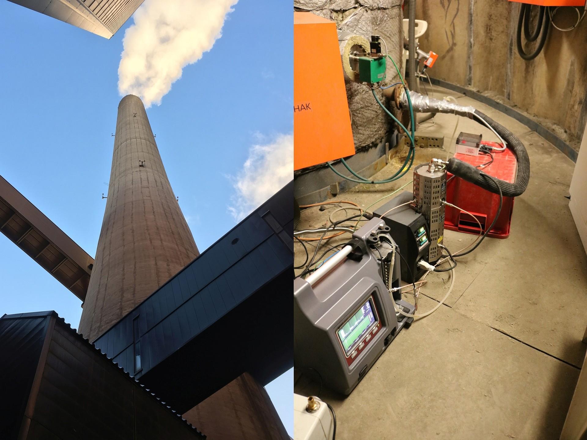 Emission measurement system